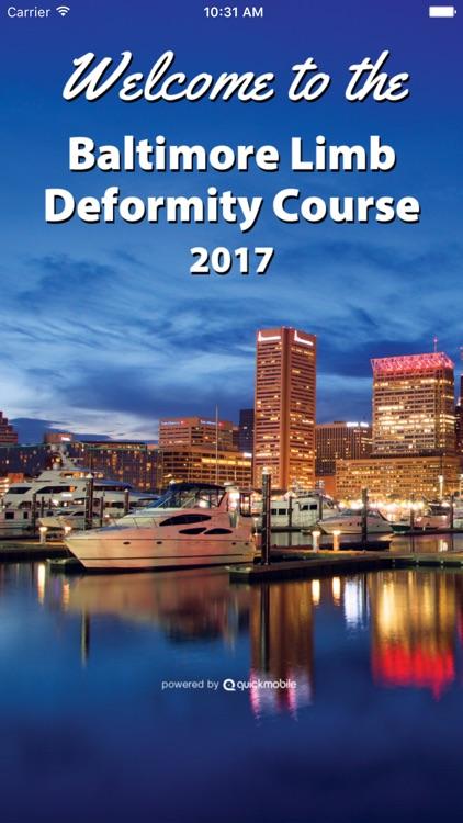 Deformity Course 2017