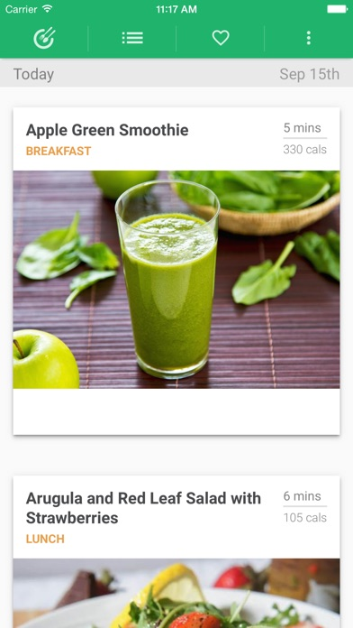Weight Loss Meal Plan App