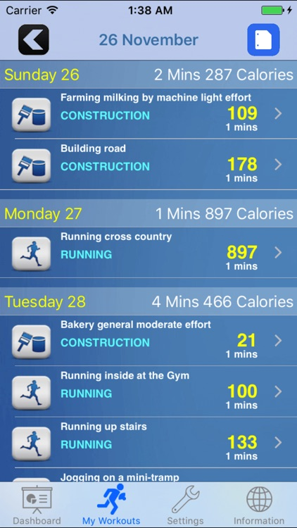iGymWorkout – Calories & Weight Loss Tracking App screenshot-4