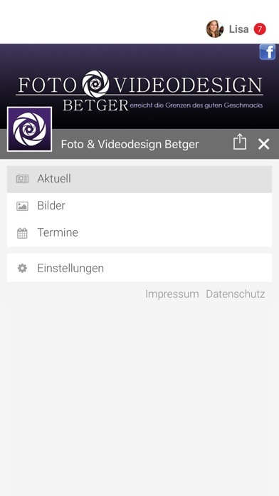 Foto & Videodesign BetgerScreenshot von 2