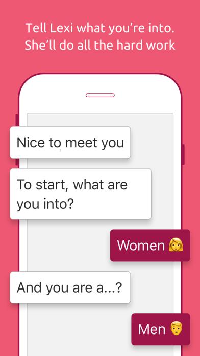 Lexi: Your Dating Concierge screenshot two