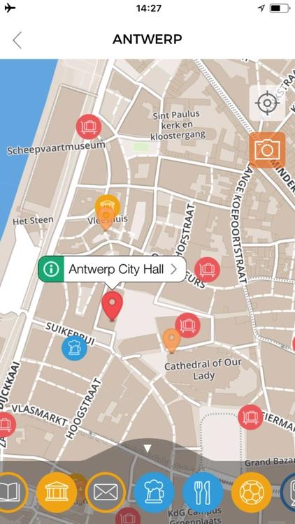 Antwerp Travel Guide Offline screenshot-4