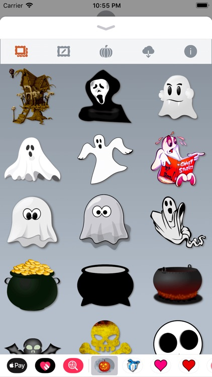 Happy Halloween • Stickers screenshot-7