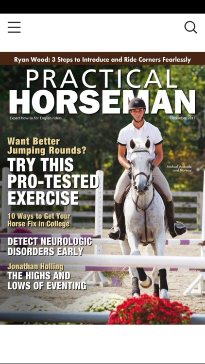 Practical Horseman Magazine HD screenshot-0