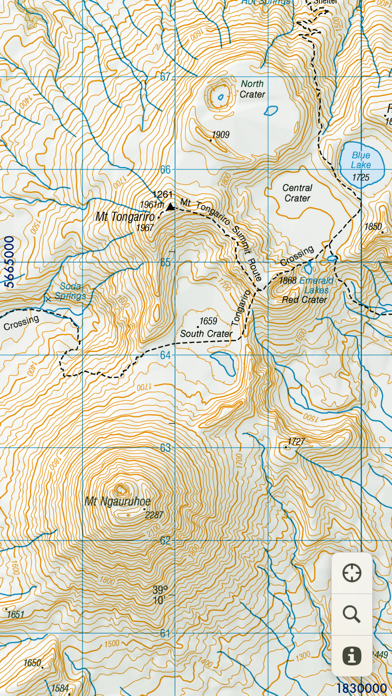 MapApp NZ North Island screenshot two
