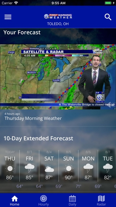 App Shopper: 13abc First Warning Weather (Weather)