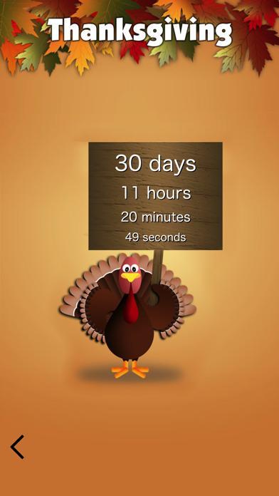 Thanksgiving App Screenshot
