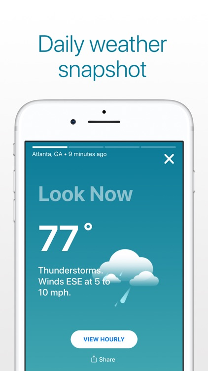Weather: The Weather Channel screenshot-4
