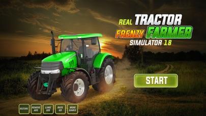 Echter Traktor Raserei Landwirt Simulator 18Screenshot von 1