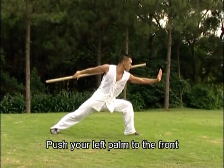 Shaolin kungfu Cudgel