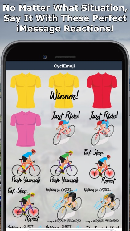 CyclEmoji - Cycling Emojis
