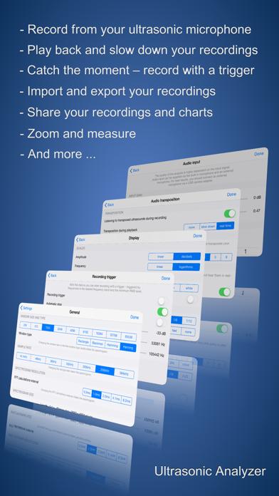 Ultrasonic Analyzer screenshot three