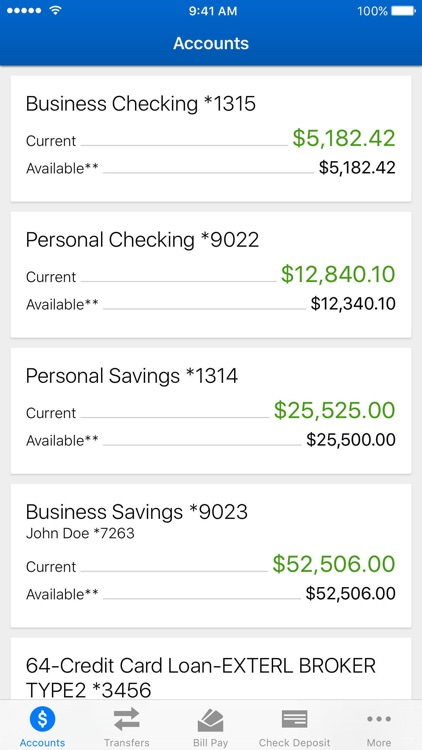 HEBFCU Mobile Banking screenshot-2