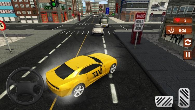 Taxi Cab Driver Simulator 3D screenshot-4