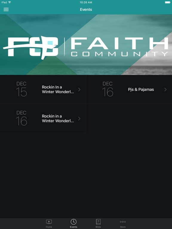 Faith Community Church Lodi screenshot 5