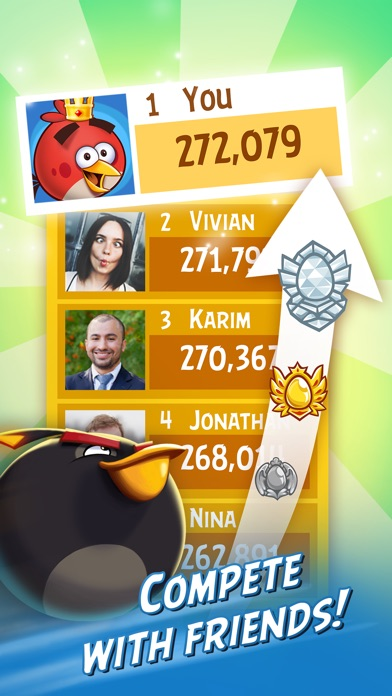 Angry Birds Friends Screenshots