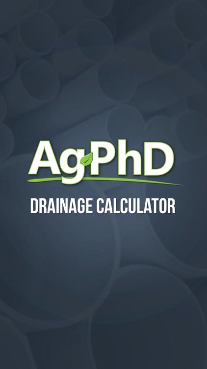 Drainage Tile Calculator
