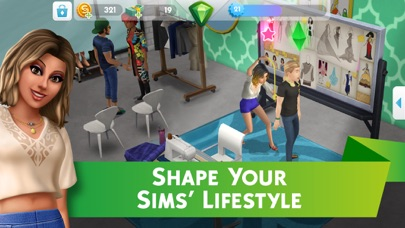 Screenshot of The Sims™ Mobile App