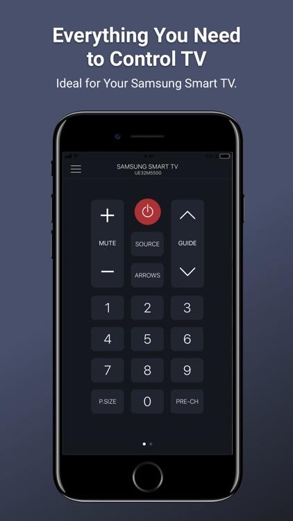 Remotie: remote for Samsung TV