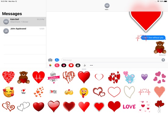 Love Stickers ملصقات الحب screenshot 5