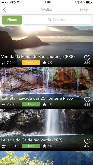 Screenshot for WalkMe   Walking in Madeira in Denmark App Store