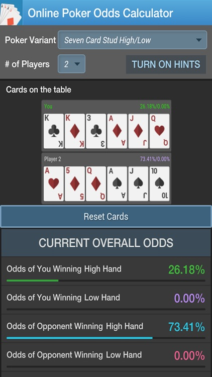 Poker Odds Calculator by CC screenshot-4