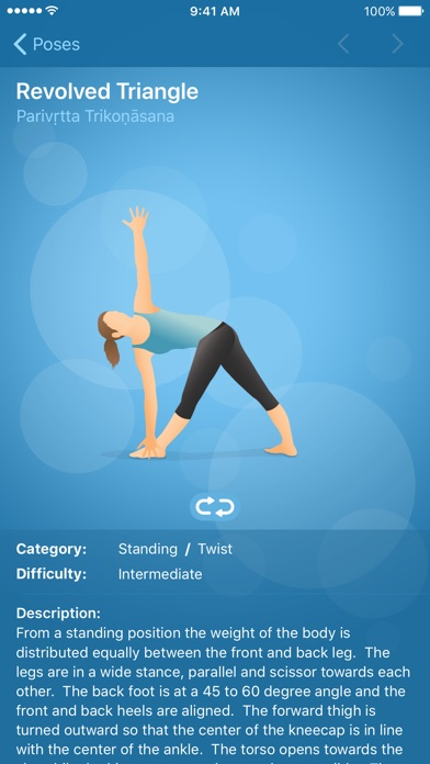 Screenshot for Pocket Yoga in Poland App Store