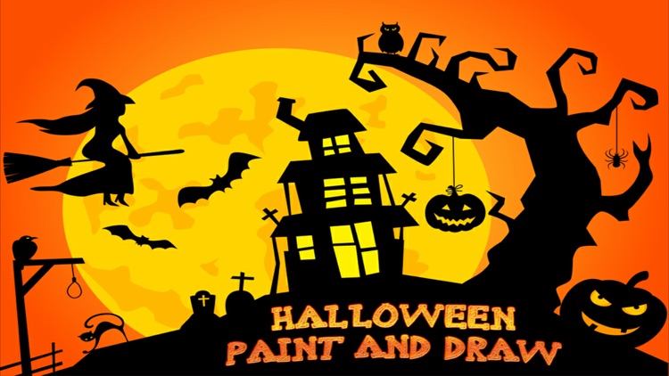 Halloween Paint And Draw