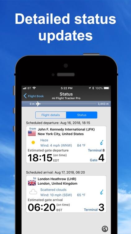 mi Flight Tracker Pro screenshot-0
