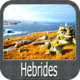 Marine : Hebrides GPS Map fishing chart Navigator