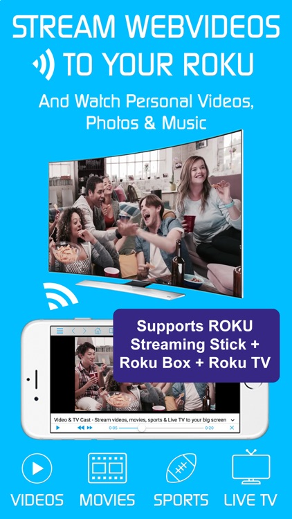Video & TV Cast | Roku Player