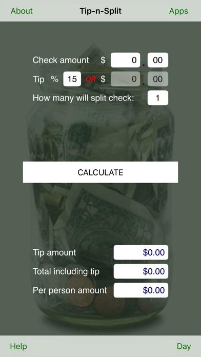 Tip N Split review screenshots