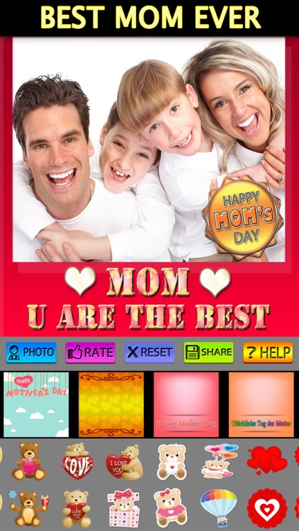 Mother's Day Frames with Love screenshot-4