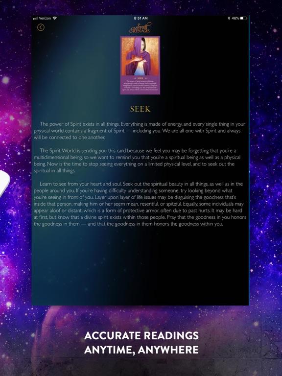 Spirit Messages Daily Guidance screenshot 10