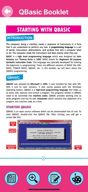 IT Planet QBasic on the App Store