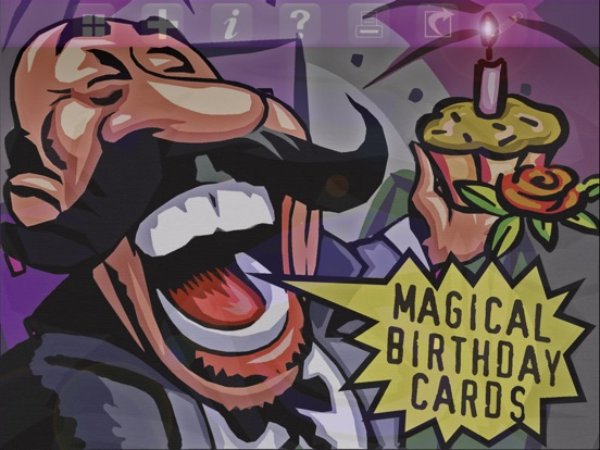 Screenshot 1 For Magical Birthday Cards