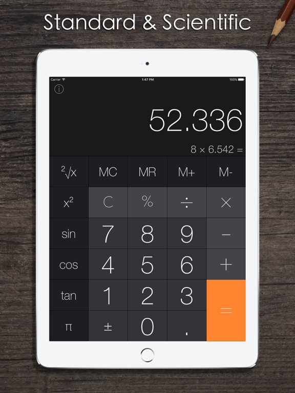 Screenshot #1 for Calculator iRocks