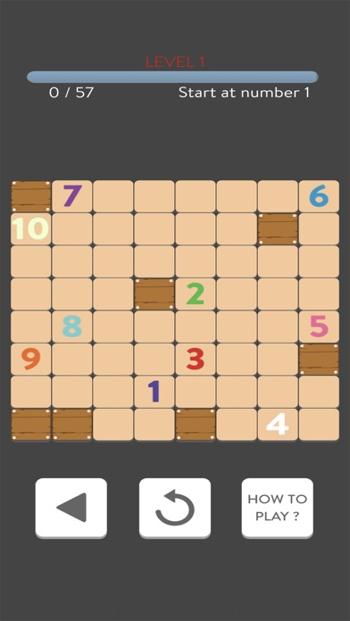Connect Number Puzzle Screenshot on iOS