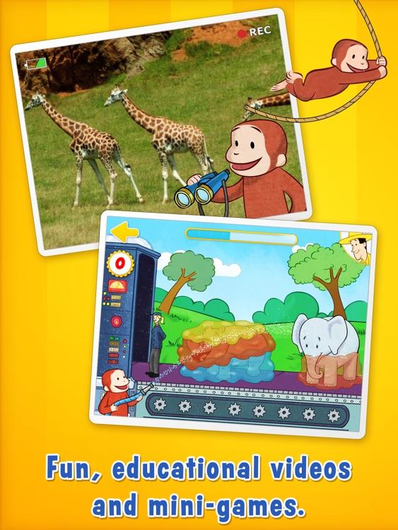 Curious George: Zoo for iPad screenshot-3