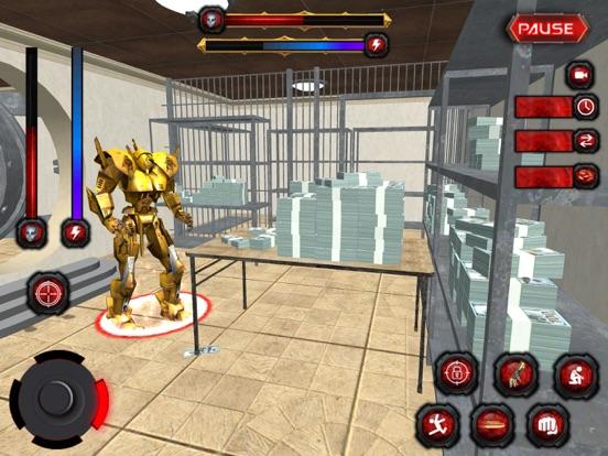 Bank Robbery:Robo Secret Agent-ipad-0