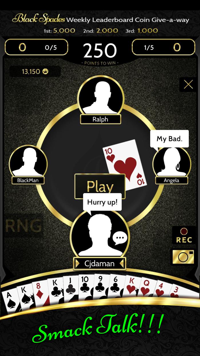 Black Spades Screenshot