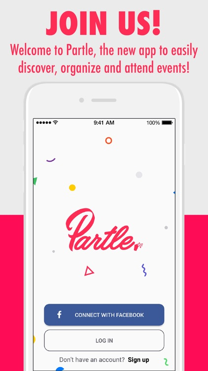 Partle: Organize & find events