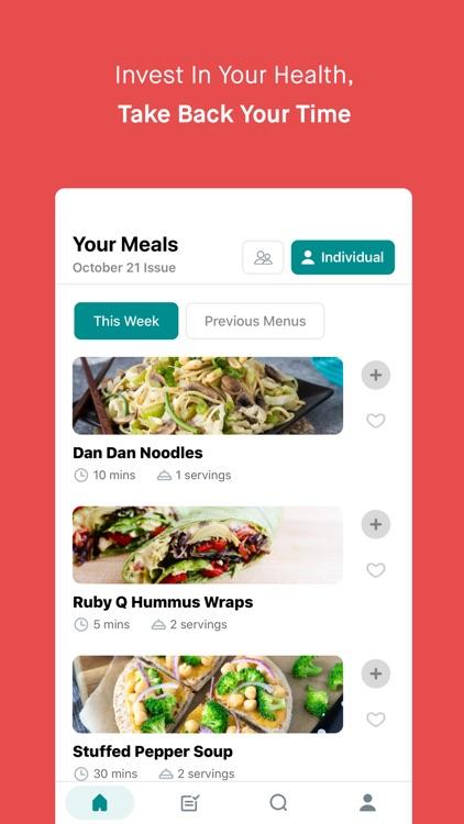 Meal Mentor - Vegan Meal Plan