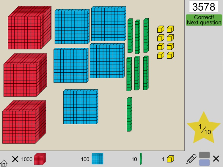 Base Ten Blocks Math screenshot-4