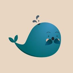 Cute Whale Emojis