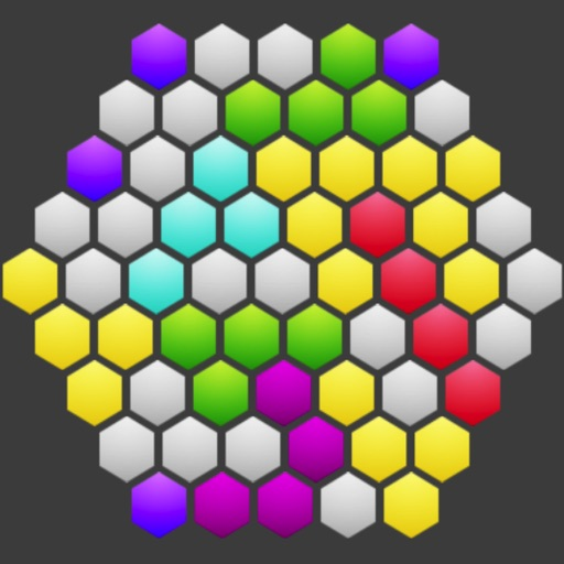 Hexagonal Merge icon