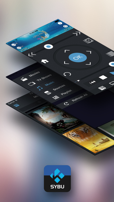 messages.download Sybu for Kodi and XBMC software