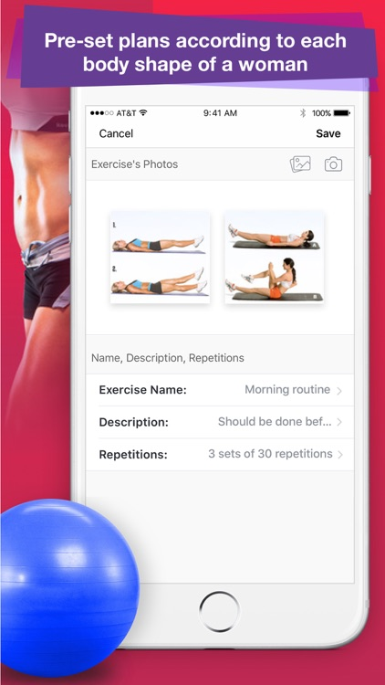 Female Fitness: Best Exercises screenshot-1