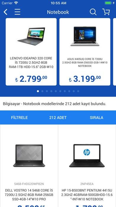 Screenshot for Vatan Bilgisayar in Turkey App Store
