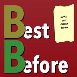 Shopping list BestBefore